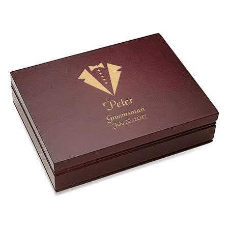 B394 Wine tuxedo theme rosewood finish card box executive