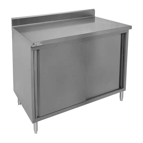 enclosed stainless steel work table restaurant quality enclosed stainless steel base tables
