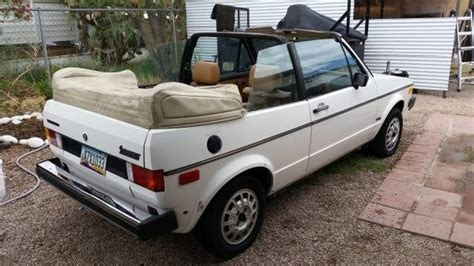 1982 Volkswagen Rabbit Convertible by And Hatchless 1982 Vw Rabbit Convertible