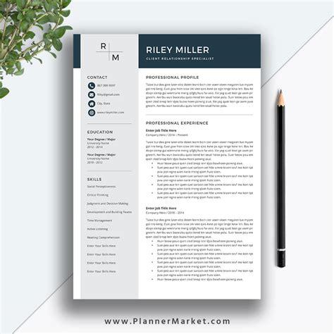 resume word template resume badak