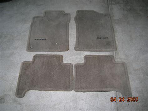 selling oem floor mats toyota 4runner forum