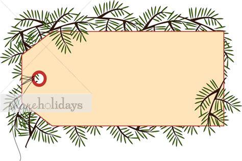 printable christmas tags clipart pine gift tag christmas decoration clipart