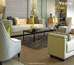 Sofa Vania our showroom at jakarta using warwick fabric for sofa vania interior showroom