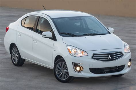 mitsubishi mirage sedan 2017 mitsubishi mirage g4 pricing for sale edmunds