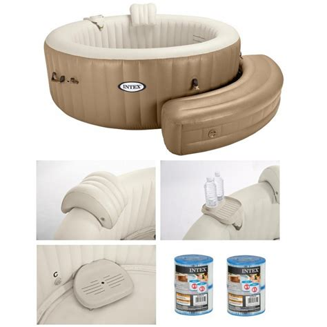 comfort relax spa comfort set intex pure spa jacuzzi 2 persoon whirlpool