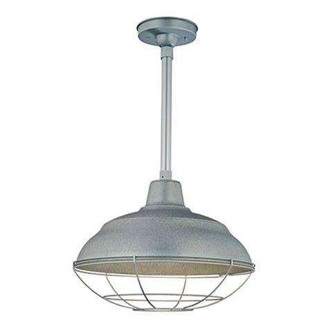 Galvanized Pendant Light Galvanized Warehouse Pendant Light Bellacor