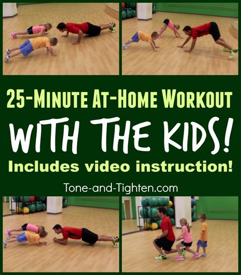 ideas to workout at home with your tone and tighten