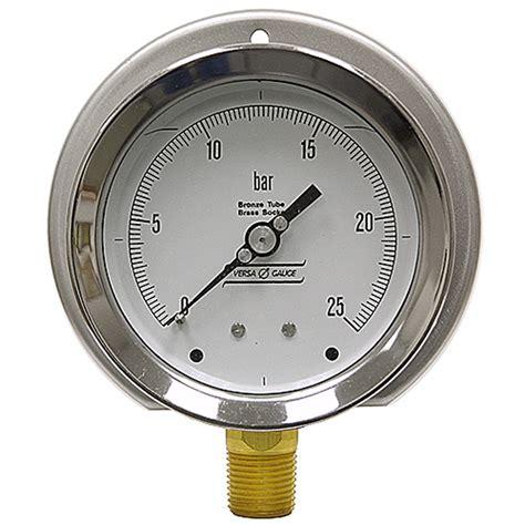 Pressure 25 Bar 25 Bar 4 Fp Pressure Vacuum Gauges