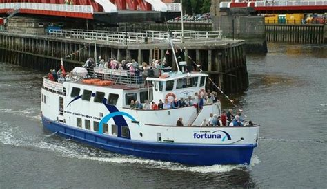 party boat on tyne exclusive charter onboard our fortuna picture of river