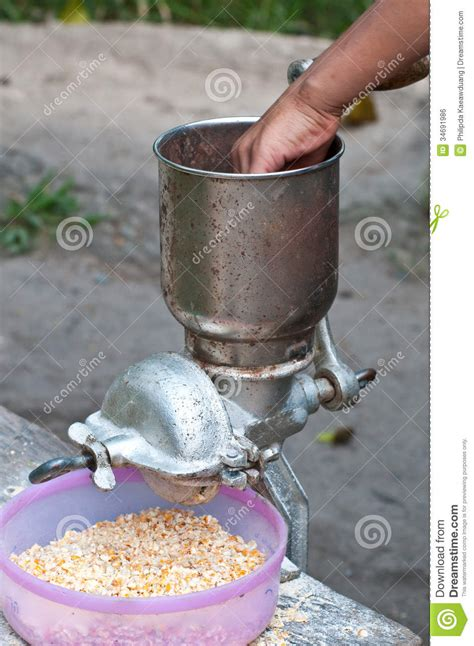 Corn Grinder Royalty Free Stock Image   Image: 34691986