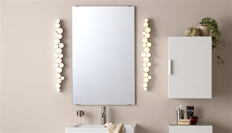 led mirror lights bathroom lighting bathroom lights ikea
