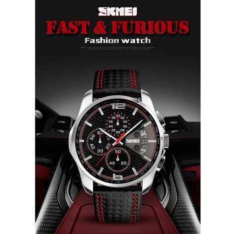 Jam Tangan Pria Skmei 7180 skmei jam tangan analog pria 9106 blue