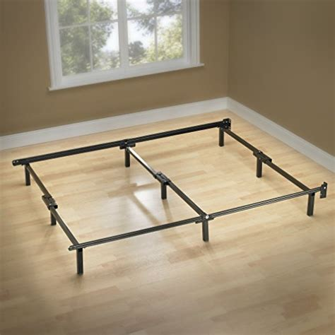 Support For Bed Frame Zinus Compack 9 Leg Support Bed Frame For Box Mattress Set Cal King Rings N Rollers