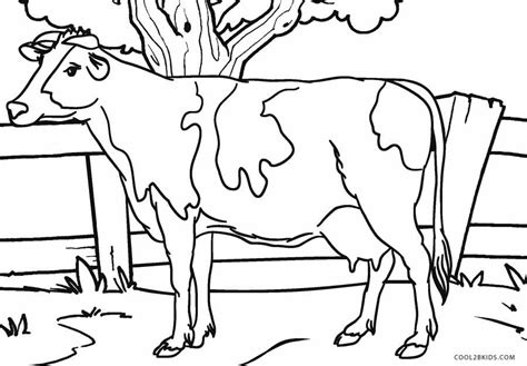 dairy cow coloring page free printable cow coloring pages for kids cool2bkids