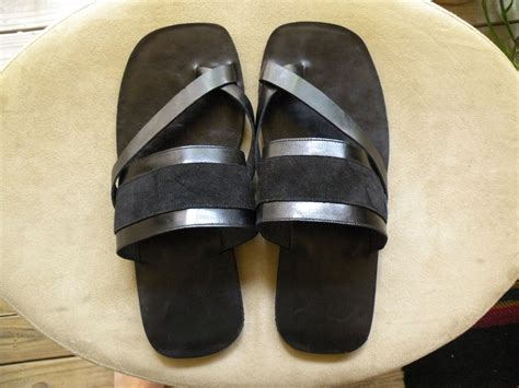 Handmade Leather Flip Flops - attollo handmade leather sandals flip flops all sizes