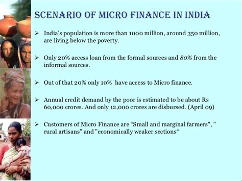 Differentiate Between Formal And Informal Credit Sources Micro Finance Shg Ppt