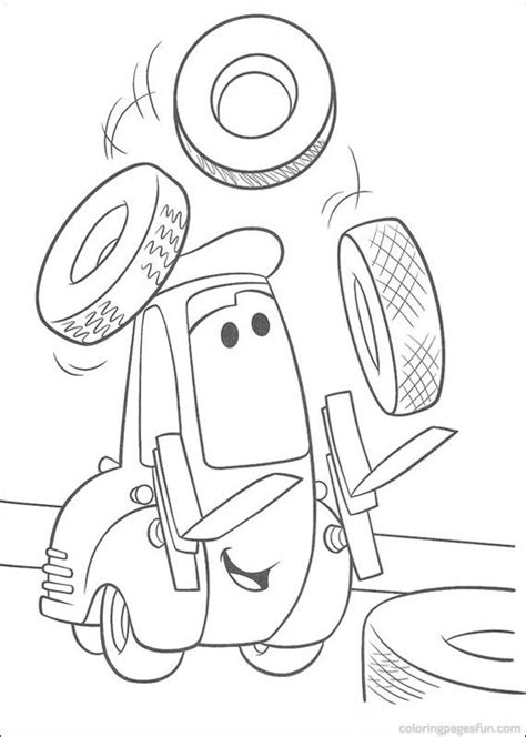 cars guido coloring pages disney cars guido coloring pages coloring pages pinterest