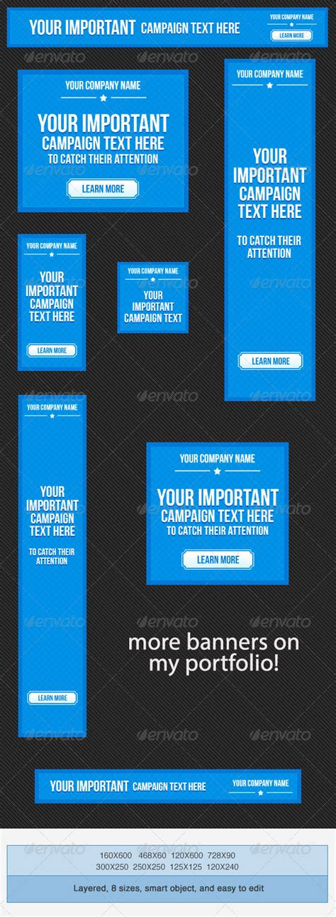 web marketing banner ad templates graphicriver