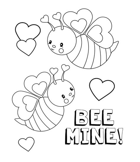 valentines coloring pages happiness is
