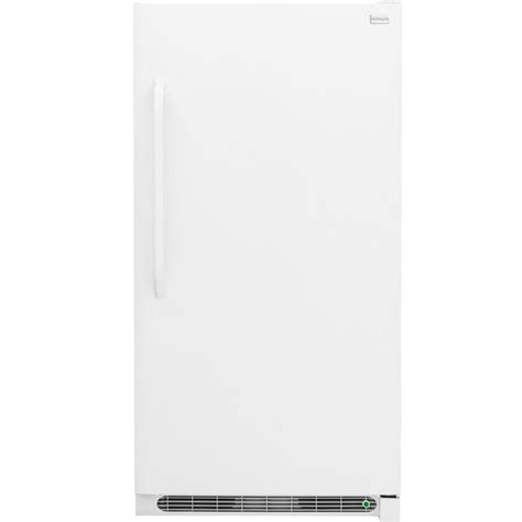 Freezer Low Watt frigidaire 16 7 cu ft freezerless refrigerator in white