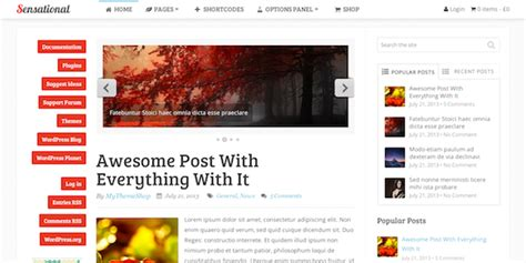 sensational theme mythemeshop review what s good and bad about them
