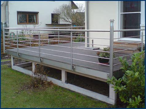 terrassengeländer edelstahl terrassengel 228 nder