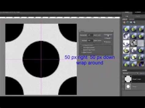 create pattern in photoshop elements tutorial how to make polka dots pattern in photoshop