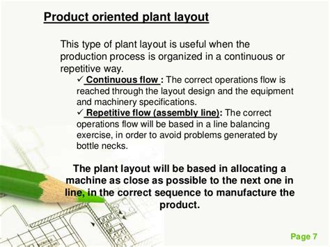 types of plant layout plant layout
