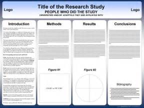 scientific poster templates free powerpoint scientific research poster templates for