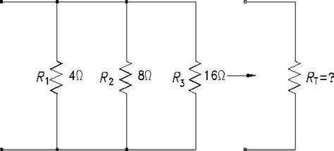 parallel resistor total resistance figure 27 total resistance in a parallel circuit
