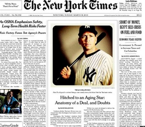 new york times sports section ny times runs instagram photo on front page photo huffpost