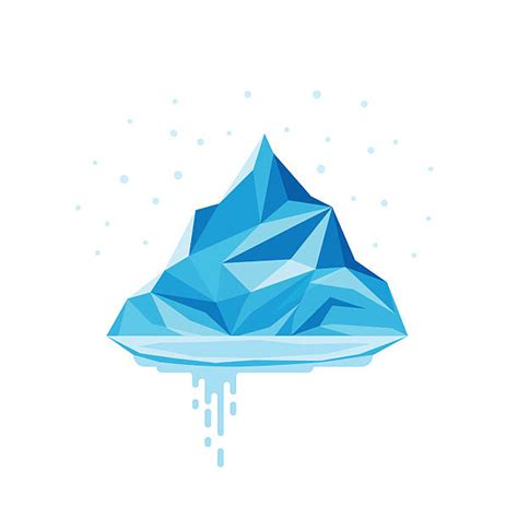 clipart iceberg glacier clip vector images illustrations istock