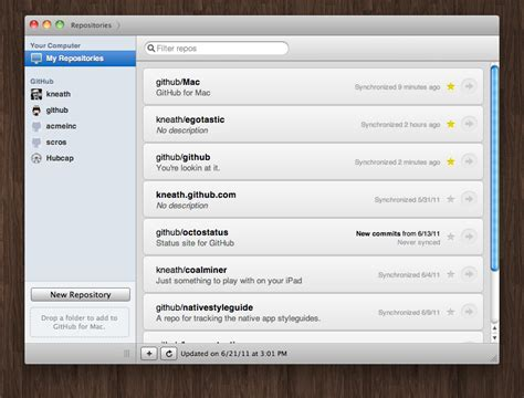 github tutorial os x github for mac os x makes sharing and managing code easy