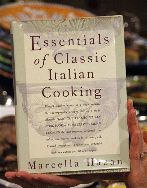 classic italian cookbook learn how to cook the italian way books a cookbook club and marcella hazan s essentials of italian