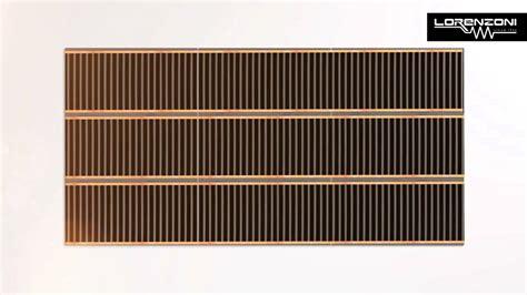 riscaldamento elettrico pavimento lor foil kit 0 3 riscaldamento elettrico a pavimento mp4