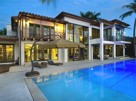Miami Modern Home Design by A Modern House With A Pool In Miami Home Designs Project