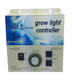 grow light timer spl horticulture grow light controller system 8plug with