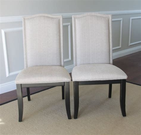 Dining Chairs With Nailheads White Dining Chairs With Nailhead Trim Chairs Seating