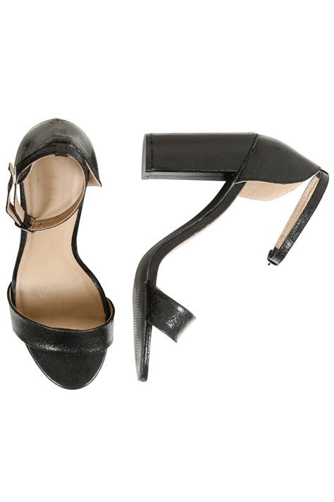 comfort block black comfort insole block heel mary sandal in e fit size