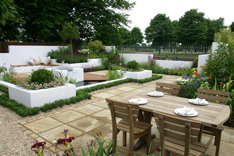 Jardins En Terrasse by Amenagement De Terrasses Et Jardins Amenagement Terrasse