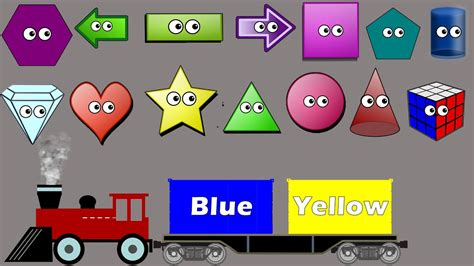 shapes and colors song shapes colors sorting song for colors