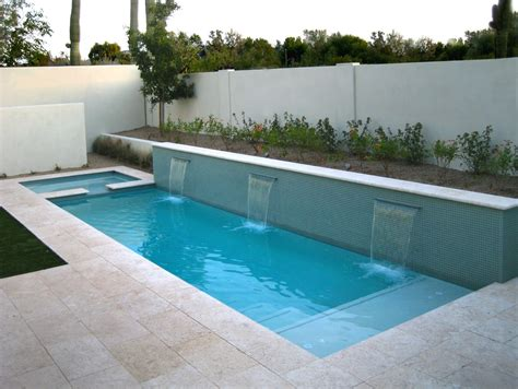 modern pool swimming pool modern white stone floor on yard pond modern