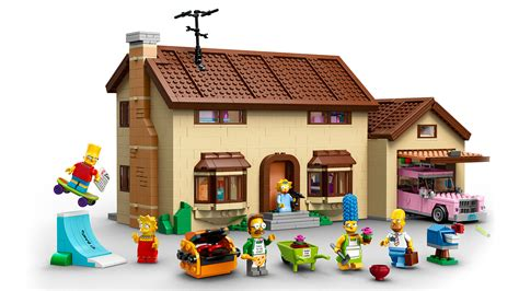 lego house simpsons lego house officially revealed the toyark news