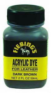 fiebing s acrylic leather dye 2 ounces