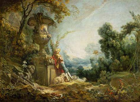 pastoral shepherd in landscape fran 231 ois boucher