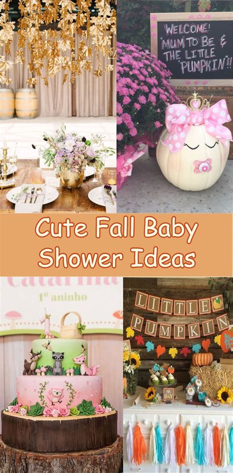 Ideas For Fall Baby Shower by Best 25 Fall Baby Showers Ideas On Baby