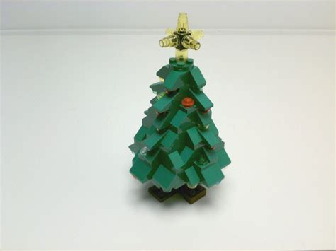 how to make a lego christmas tree tutorial lego tree cc