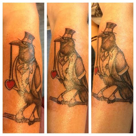 tattoo new minas my crow tattoo done by robert winter everlasting ink