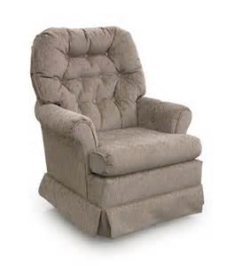 Chairs swivel glide marla swivel rocker chair by best home