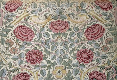 pattern painting artist william morris the rose pattern painting the rose